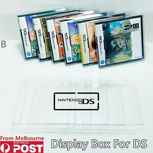 Thick GAME BOX PROTECTORS Cases Nintendo 3DS & 2DS & DS Display BOXED