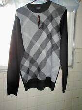 Cambridge Classics Long Sleeve Shirt Size M Medium Grey Pattern New With Tags