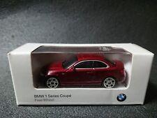 BMW 1 Series Coupe Free Wheel Dark red Mini Car Model Car