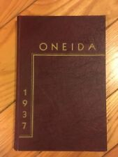 1937 Lewisburg High School Yearbook - The Oneida - Lewisburg, PA -