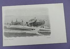 Hoe Pier Plymouth - Early Undivided Back Postcard in Excellent Unused Condition