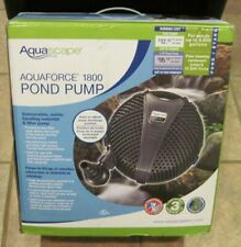 Aquascape AquaForce 1800 GPM Pond Submersible Pump 91112 NEW in Open Box