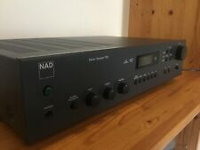Vintage NAD 712 Stereo Amplifier Receiver With Original Remote Amp - TESTED
