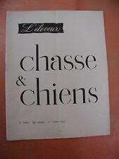 REVUE. L'ELEVEUR. chasse.chiens.revue cynetique et canine..1 mars 1953