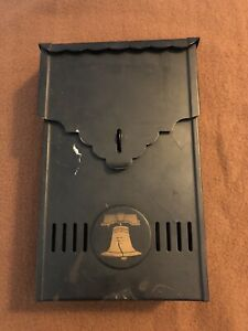 Vintage Black Metal PN Co Mailbox USA