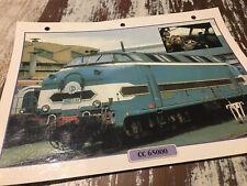 079 locomotive CC65000 1956 Fiche collection ATLAS trains de légende CC 65000