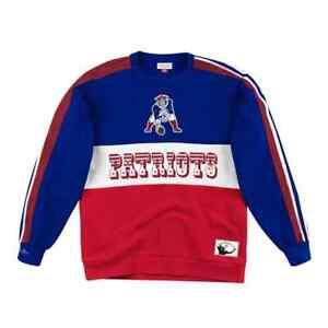 Mitchell & Ness NFL New England Patriots Fleece Sweatshirt