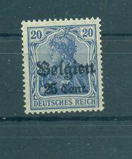 BELGIUM - GERMAN OCCUPATION 1914/18 Mi. 18 25C