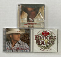 Lot Of 3 Country Cds Tim Mcgraw And The Dancehall Doctors Alan Jackson Brooks