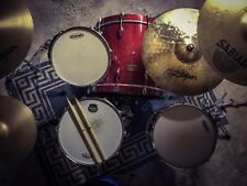 Pearl Masters Studio Drums (BLX) - Red Sparkle - *Near Mint Cond.*
