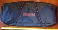 Vintage Yamaha Padded Soft Case Electric Keyboard Black & Red Synthesizer