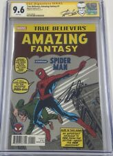 Amazing Fantasy #15 Reprint Signed Stan Lee CGC 9.6 SS 1st Spiderman Appearance
