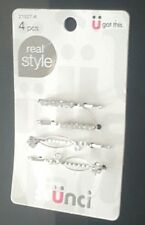 Scunci Rhinestone Bobby Pins 4 Count by Scunci Pack of 4
