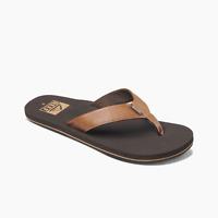 Reef Men's Twinpin Sandals Flip Flops - Brown NWT