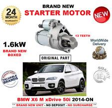 PARA BMW X6 xdDrive 50i M 2014-> MOTOR DE ARRANQUE UNIDAD 13 DIENTES F16 F86