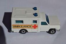Ambulance Matchbox 1-75 Diecast Cars, Trucks & Vans