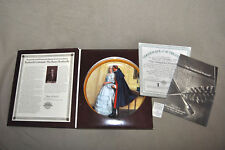 "Norman Rockwell ""The Unexpected Proposal"" Box W/ Coa Paperwork 1986 Mint"