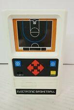 VINTAGE 1978 MATTEL ELECTRONIC BASKETBALL HANDHELD GAME WORKS GREAT RETRO