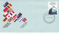 AAT AUSTRALIA 7 SEPTEMBER 1983 ANTARCTIC TREATY OFFICIAL FIRST DAY COVER SHS