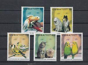 Cuuban 2004 Pets, complete set