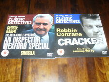 CRACKER (ROBBIE COLTRAINE) & AN INSPECTOR WEXFORD SPECIAL - 2 x PROMO TV DVD's