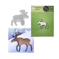 Magnificent Moose Metal Die Cut Poppystamps Cutting Dies 2109 Animals