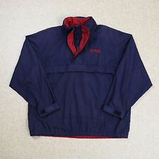 VINTAGE NAVY RALPH LAUREN CHAPS 1/4 ZIP WINDBREAKER JACKET POLO SPORT