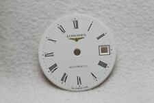 Reloj De Pulsera Longines Damas Blanco Números Automático Dial - 19.5 mm nos