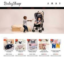Established Profitable Baby Store Turnkey DropShip Website Business For Sale