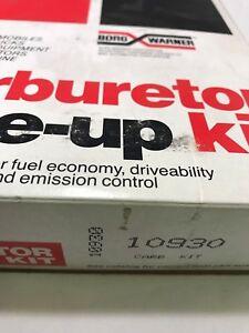 Carburetor Repair Kit BWD 10930 90-92 Ford Escort Mazda Protege Mercury Tracer