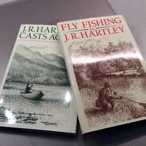 Two J R Hartley fly fishing books