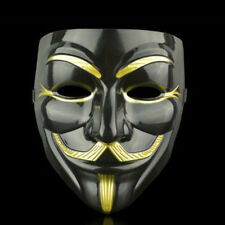 V for Vendetta Anonymous Hacker Halloween Face Masks Cosplay Party Fancy Mask C