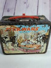 Vintage 1977 ORIGINAL STAR WARS LUNCH BOX King Seeley - No Thermos A01B