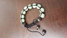 shambala bracelet with resin beads