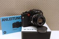 "Leica 10043 - Leica R4 black Kit Elmarit 2.8/28mm ""gepflegte Kamera"" - Top!"