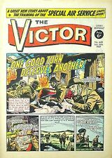 VICTOR - 26th JULY 1969 (21 - 27 July) - YOUR WEEK OF BIRTH ?? VG+...beano eagle