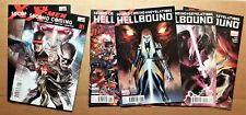 X-Men Second Coming #1-2, Hellbound #1-3 & #1 2nd print variant lot of 6 Magik
