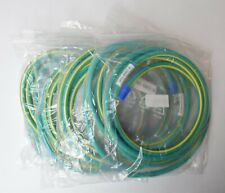 Lot of 6 Communication Cables Ground Strap Assembly Lug On One Side WG-0007-0