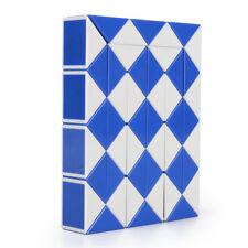 Magic Ruler Cube Twist Snake Folding Puzzle Kids Educational Toy Gift 48PCS