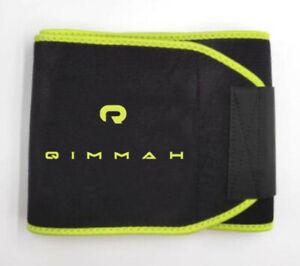 Large Waist Trainer Sweat Belt Men Fat Burner Fitness Gym Workout Qimmah Slim