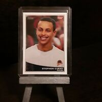 2009 Stephen Curry RC Topps #321 Ungraded Rookie reprint (Mint!)