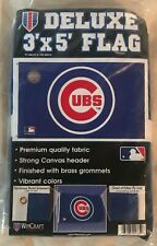 New listing Chicago Cubs 3'X5' House Flag Wall Banner Mlb Licensed Usa High Quality