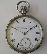 Japy Freres & Cie Pocket Watch for Repair / Saqui & Lawrence London / CJF France