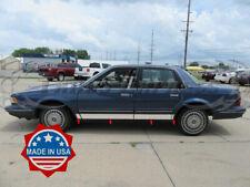 "1982-1996 Buick Century 4Dr Sedan Stainless Rocker Panel Trim Molding 8Pc 4"""