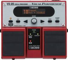 BOSS VE-20 VOCAL PROCESSOR TWIN PEDAL EFFECT PROFESSIONAL NEW  Roland