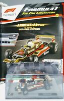 Arrrow A1B Riccardo Patrese1/43 Scale Formula One  F1 The Car Collection & Mag.