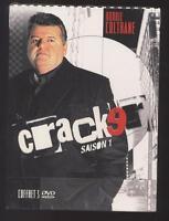 NEUF COFFRET 3 DVD CRACKER INTEGRALE SAISON 1 SOUS BLISTER SERIE TV POLICIER