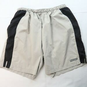 Pearl Izumi Men's Baggy Cycling Shorts Size Medium Off White Above Knee