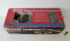 G.I.Joe VINTAGE RC MILITARY TANK Sears Exclusive 80s Made In Japan  GI JOE