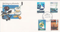 1981 Yachting in Australia FDC - Gouldburn NSW 2580 PMK